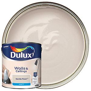 Dulux Matt Emulsion Paint - Gentle Fawn 2.5L