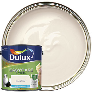 Dulux Easycare Kitchen Matt Emulsion Paint - Almond White 2.5L