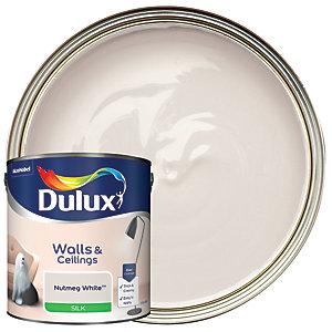 Dulux Silk Emulsion Paint - Nutmeg White 2.5L