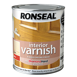 Ronseal Interior Varnish - Gloss Clear 750ml