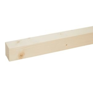 Stick timber (T)34mm (W)34mm (L)2400mm