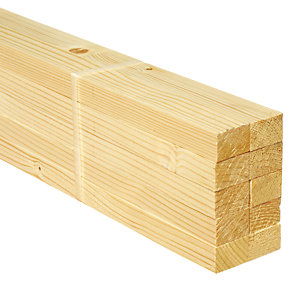 Wickes Whitewood PSE Timber - 18 x 28 x 1800 mm Pack of 10