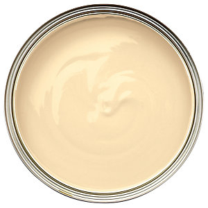 Wickes One Coat Gloss Paint - Soft Sand 750ml