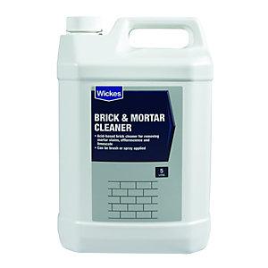 Wickes Brick & Mortar Cleaner - 5L