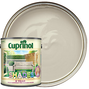 Cuprinol Garden Shades Matt Wood Treatment - Natural Stone 2.5L