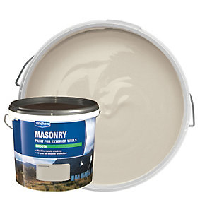 Wickes Smooth Masonry Paint - Sandstone 10L