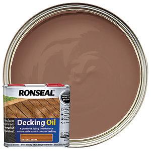 Ronseal Decking Oil - Natural Cedar 2.5L