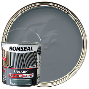 Ronseal Rescue Decking Paint - Slate 2.5L