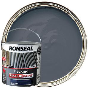 Ronseal Rescue Decking Paint - Deep Blue 2.5L