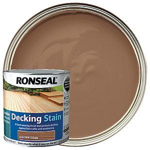 Ronseal Decking Stain - Golden Cedar 2.5L