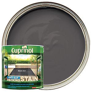 Cuprinol Anti-Slip Decking Stain - Black Ash 2.5L