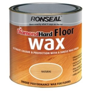 Ronseal Diamond Natural oak Matt Floor wax2.5L