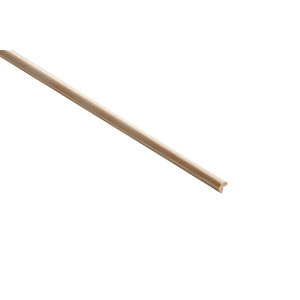 Wickes Pine Angle Moulding - 6mm x 6mm x 2.4m