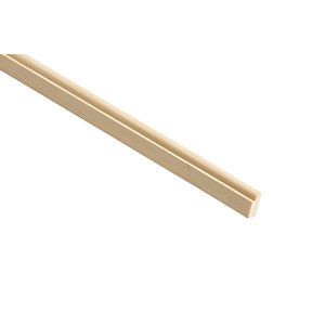Wickes Pine Door Stop Moulding - 12mm x 34mm x 2.4m