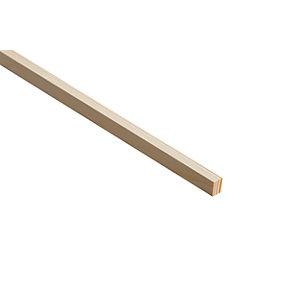 Wickes Pine Stripwood Moulding (PSE) - 12mm x 21mm x 2.4m