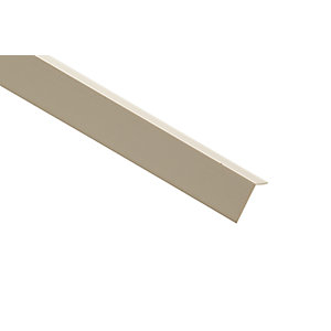 Wickes PVC Angle Moulding - 12mm x 12mm x 2.4m