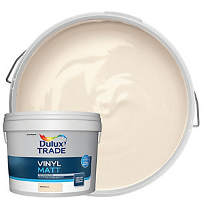 Dulux Trade Vinyl Matt Emulsion Paint - Magnolia 10L