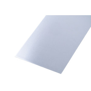 Wickes Metal Sheet Plain Uncoated Aluminium - 120 x 0.8mm x 1m