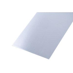 Wickes Metal Sheet Plain Uncoated Aluminium 250 x 500mm x 0.8mm
