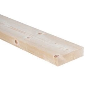 CLS treated timber (T)38mm (W)140mm (L)2400mm Pack of 3