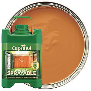 Cuprinol One Coat Sprayable - Autumn Gold 5L