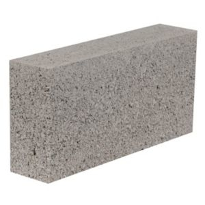 Aggregate Industries Grey Dense block (H)215mm (W)100mm (L)440mm