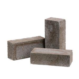 Grey Concrete brick (H)65mm (W)103mm (L)215mm
