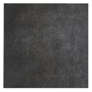 Konkrete Anthracite Matt Concrete effect Porcelain Floor tile  (L)426mm (W)426mm  Sample