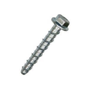 Concrete bolt (L) 60mm (Dia) 6mm  Pack of 10