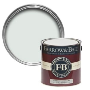 Farrow & Ball Cabbage White no.269 Matt Estate emulsion paint 2.5L