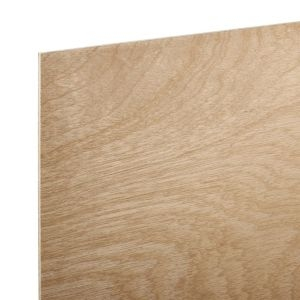 Hardwood Board (Th)5.5mm (W)607mm (L)1220mm  Pack of 6