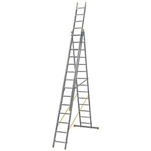 Werner 10.22m Extensionplus Aluminium 4 way Combination Ladder