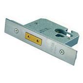 4FireDoors Door Deadlock - Stainless Steel 76mm