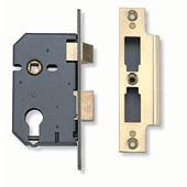 Yale B-3200-PB-76 Sashcase Lock - Brass 3in